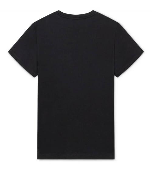 Hackett London Camiseta Negra Logo Degradé espalda