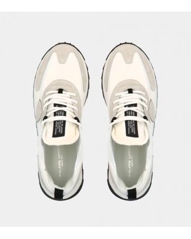Philippe Model Zapatilla Blanca Mondial superior