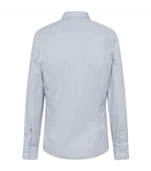 Hackett London Camisa Mini Floral Geo espalda