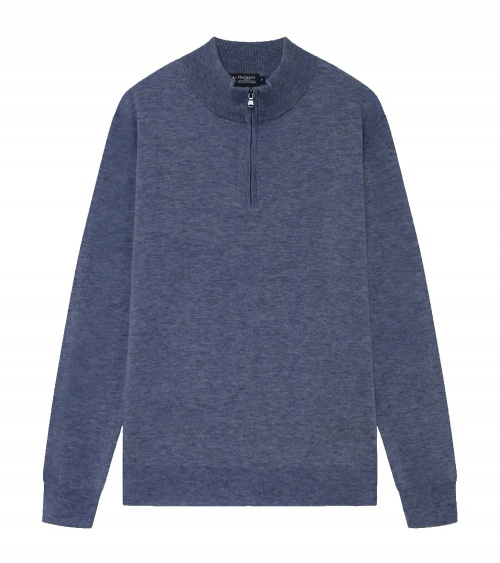 Hackett London Jersey Lavanda Denim