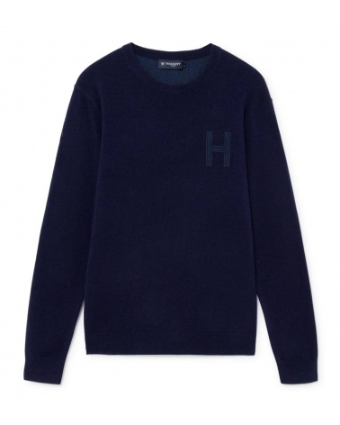 Hackett London Jersey Marino Logo H