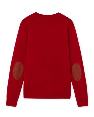 Hackett London Jersey Rojo Logo H espalda