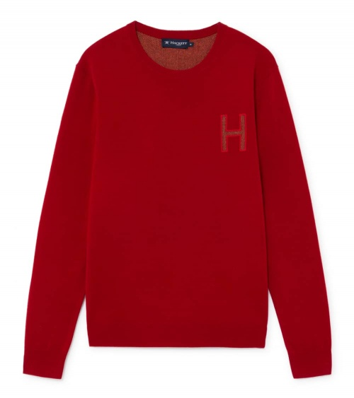 Hackett London Jersey Rojo Logo H