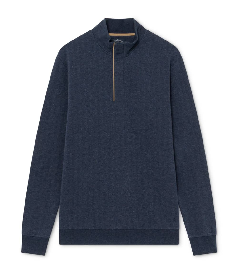Hackett London Sudadera Espiga Azul