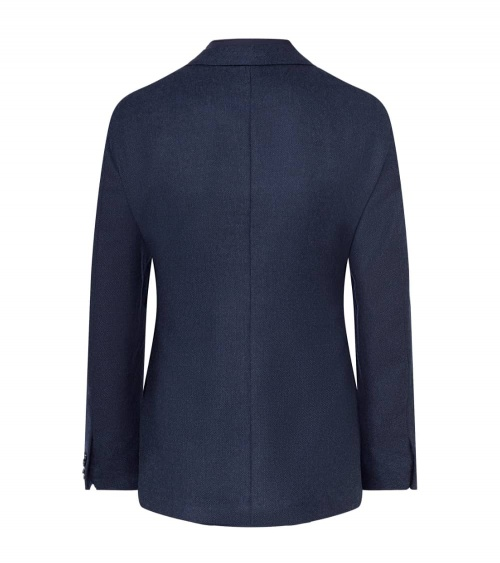 Hackett London Americana Azul espalda