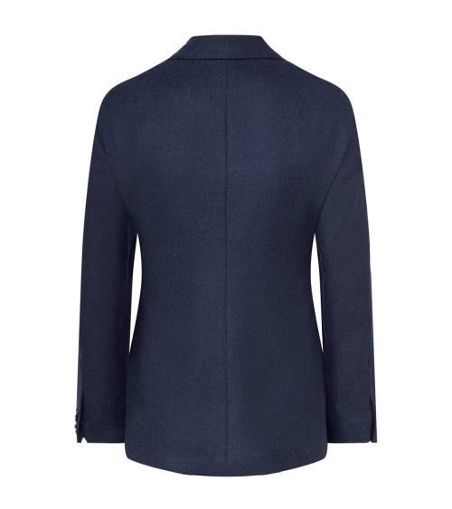 Hackett London Americana Azul espalda