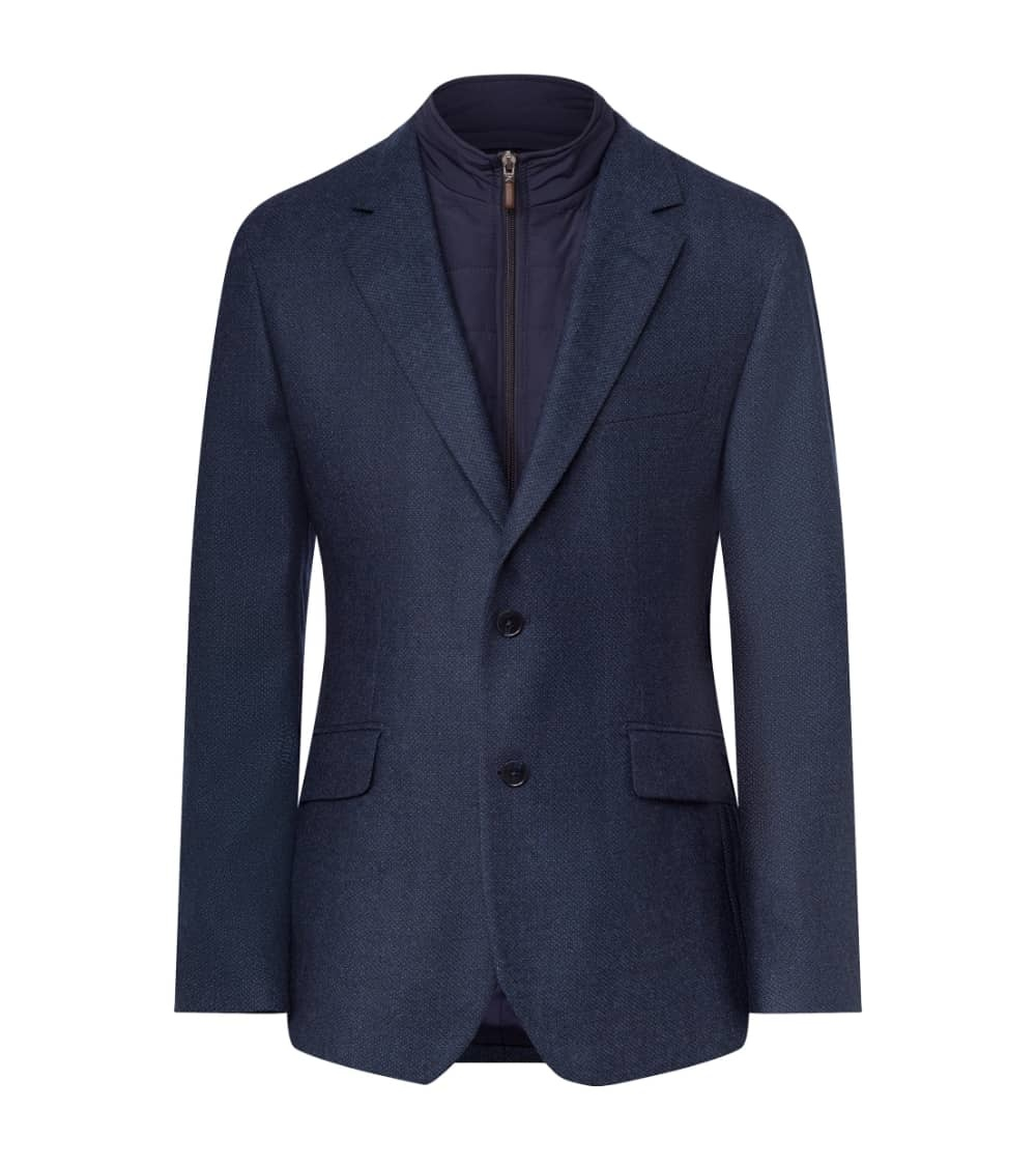 Hackett London Americana Azul