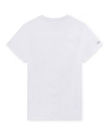 Hackett London Camiseta Blanca AMR Racing espalda