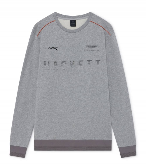 Hackett London Sudadera Gris AMR Fine
