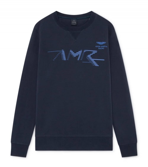 Hackett London Sudadera Marino AMR