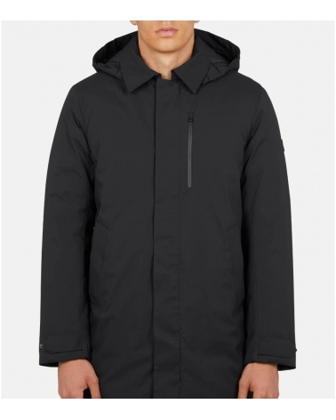 Save The Duck Parka Larga Negra modelo
