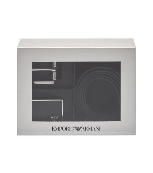 Emporio Armani Cinturón Pack Reversible contenido