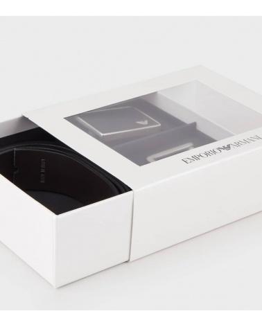 Emporio Armani Cinturón Pack Reversible caja