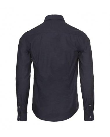 Emporio Armani Camisa Rombo Marino espalda