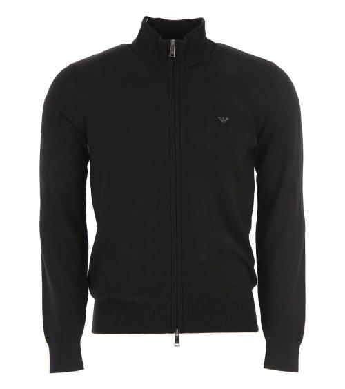 Emporio Armani Jersey Cardigan Negro