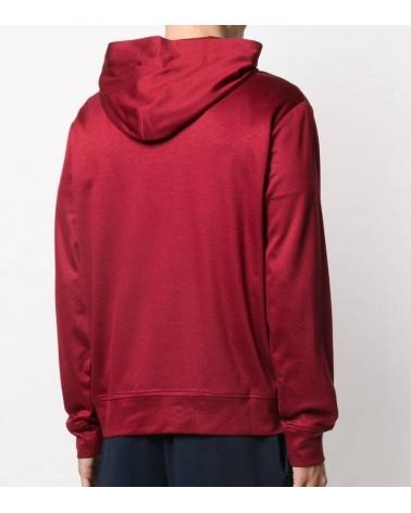 Emporio Armani Sudadera Roja Firma modelo espalda
