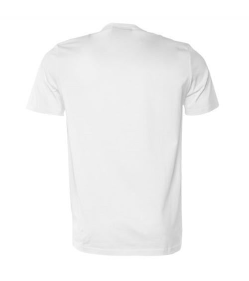 BALR Camiseta Bolsillo White detrás