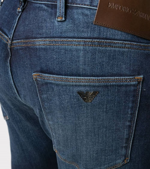 Emporio Armani Jeans J10 Denim Blue detalle