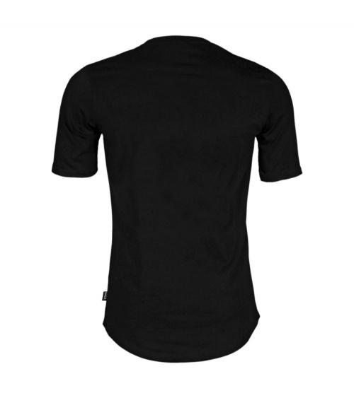 BALR Camiseta Brand Negra detrás