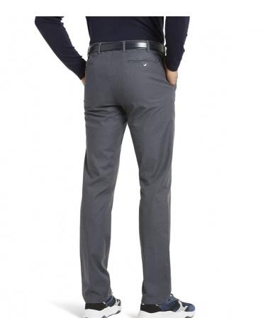 Meyer Pantalón Bonn Gris Organic detrás