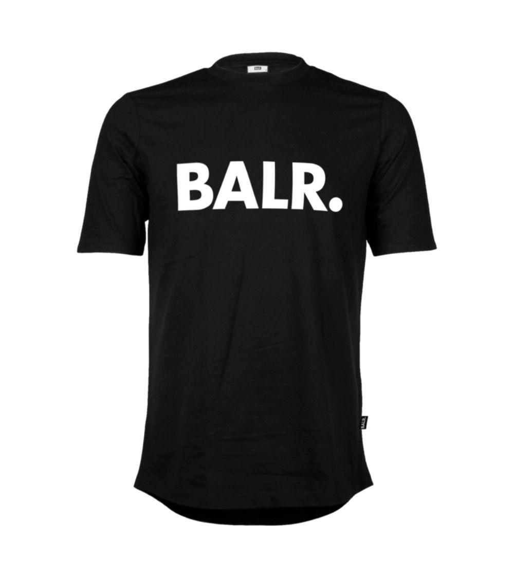 BALR Camiseta Brand Negra