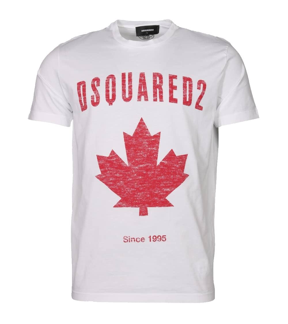 Dsquared2 Camiseta Canadian Blanca