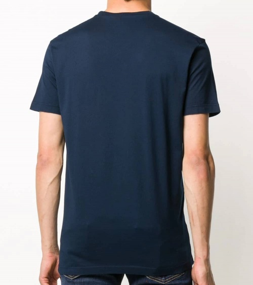 Dsquared2 Camiseta Marino DSQ2 modelo espalda