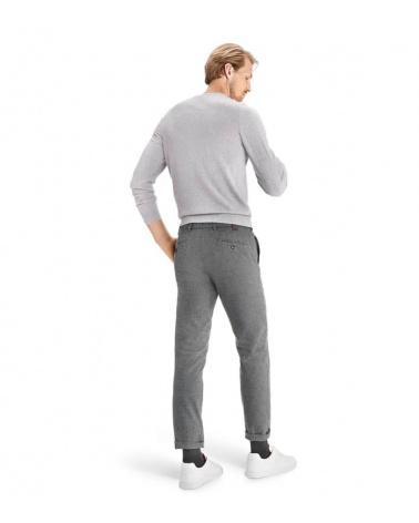 MMX Meyer Pantalón Leo Cuadros Gris modelo