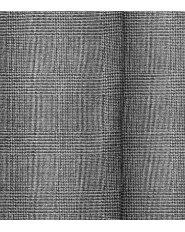 MMX Meyer Pantalón Leo Cuadros Gris textura
