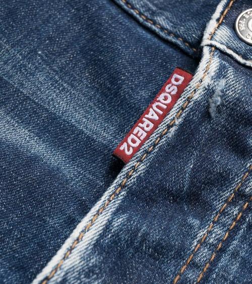 Dsquared2 Jeans Icon Skater detalle