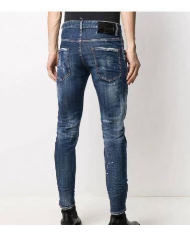 Dsquared2 Jeans Icon Skater modelo detrás