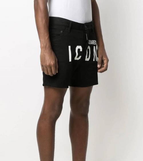 Dsquared2 Bermuda Icon Negra modelo