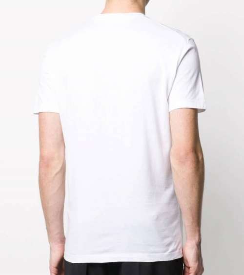 Dsquared2 Camiseta Básica Icon Blanca modelo espalda