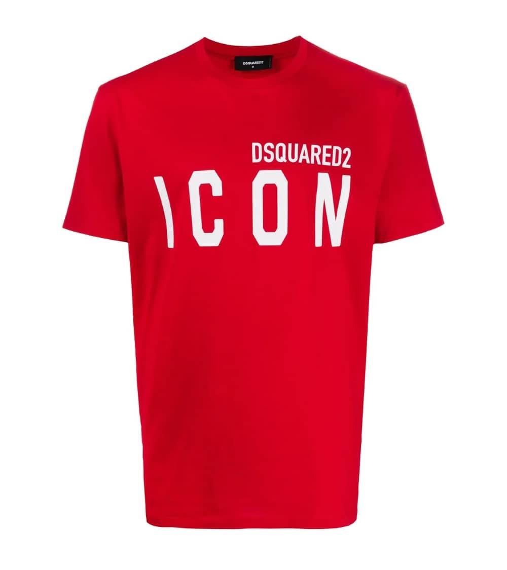 Dsquared2 Camiseta Básica Icon Roja