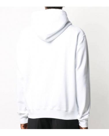 Dsquared2 Sudadera Blanca Icon Capucha modelo espalda