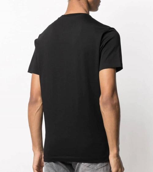 Dsquared2 Camiseta Negra Brothers modelo espalda