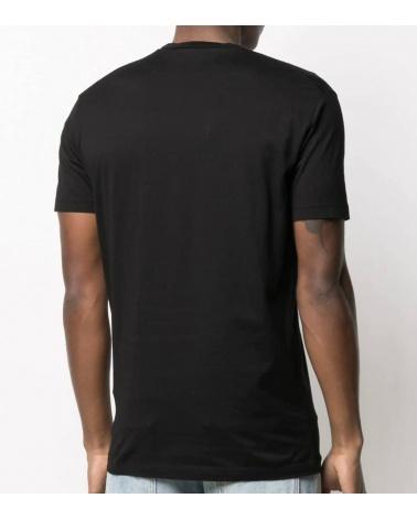 Dsquared2 Camiseta Black Icon Reflectante modelo espalda