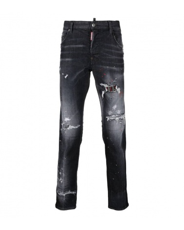 Dsquared2 Jeans Rectos Negros