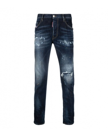 Dsquared2 Jeans Pintura Red Yellow
