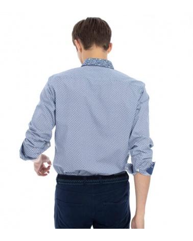 Harmont & Blaine Camisa Multiprint Cross modelo espalda