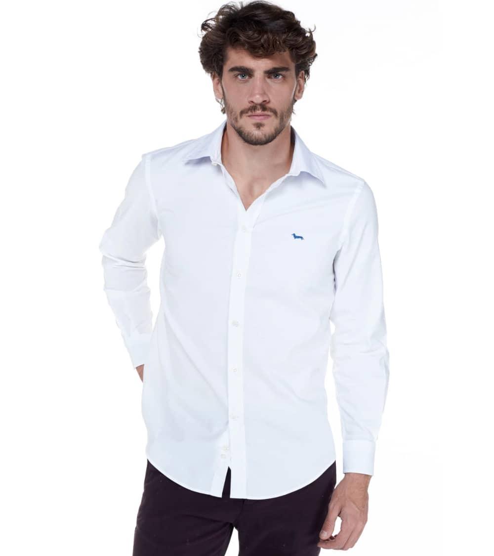 Harmont & Blaine Camisa Básica Blanca