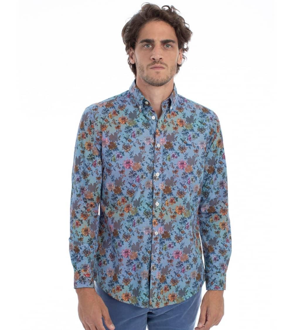 Harmont & Blaine Camisa Flowers Multicolor