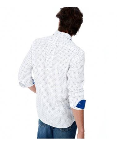 Harmont & Blaine Camisa Blanca Cashmere modelo espalda