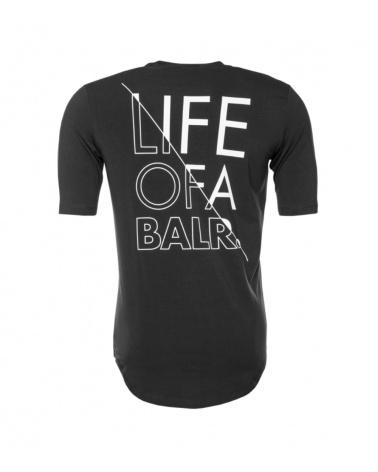 BALR Camiseta Atlética Black detrás
