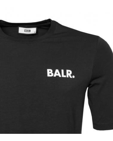 BALR Camiseta Atlética Black detalle