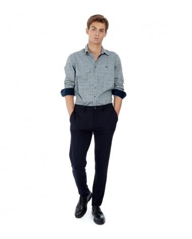 Harmont & Blaine Camisa Gris Puntos modelo