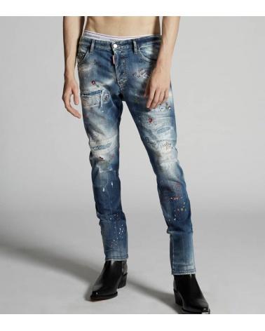 Dsquared2 Jeans Skater Comic Strass modelo