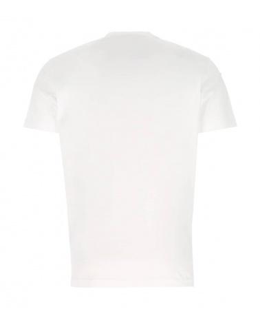 Dsquared2 Camiseta Blanca Bulldog espalda