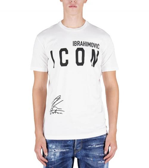 Dsquared2 Camiseta Ibrahimovic Blanca