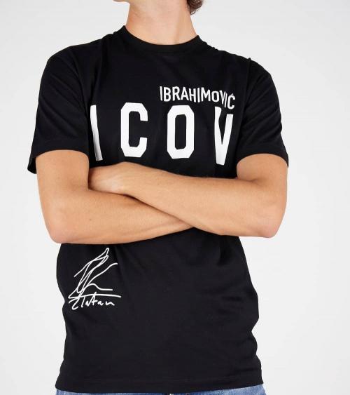 Dsquared2 Camiseta Ibrahimovic Negra modelo